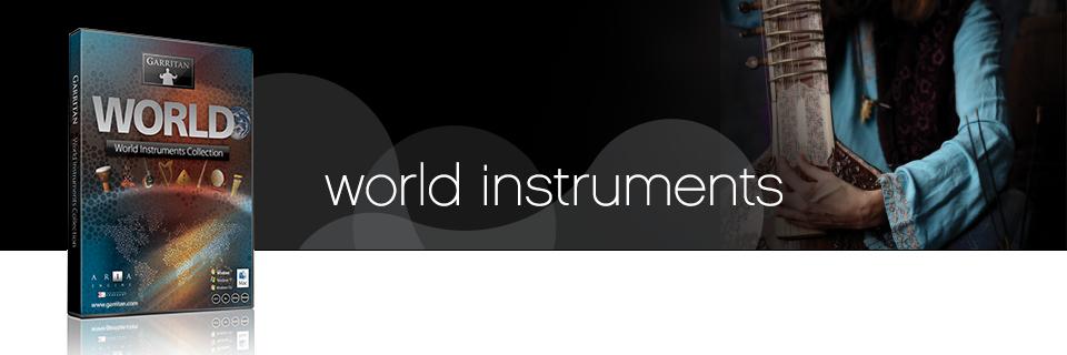 World Instruments Sample Library -Garritan