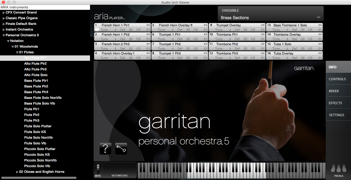 garritan aria player