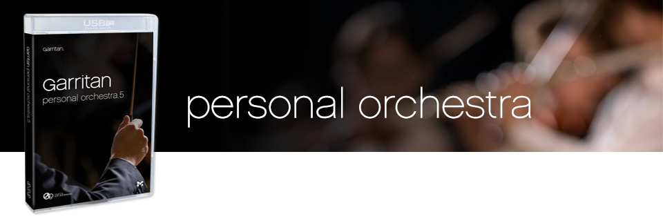 Personal Orchestra 5: Symphony Orchestra Sample Library - Garritan GPO5