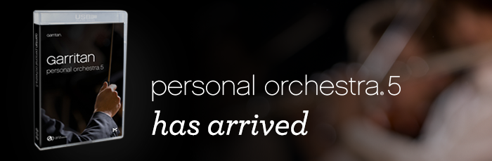 Now Available: Garritan Personal Orchestra 5